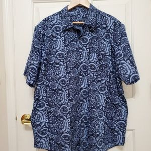 Tasso Elba Paisley Dress Shirt